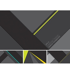 Material design abstract background vector image vector image
