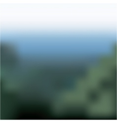 Blurred nature landscape design vector