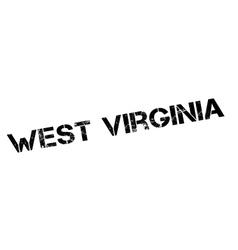 West virginia rubber stamp vector