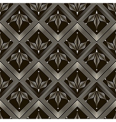 Seamless pattern monochrome ornament vector
