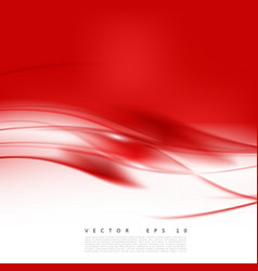 Red background curve vector