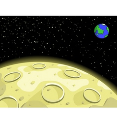 Lunar moon vector
