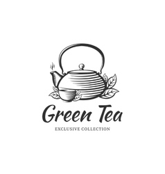 Tea logo vector