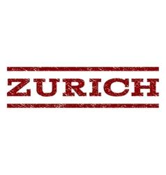 Zurich watermark stamp vector