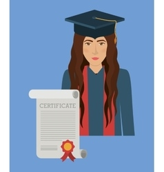 University education design vector