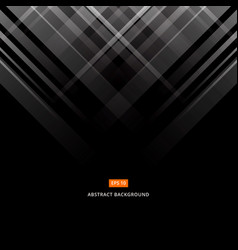 abstract black and gray technology design vector image