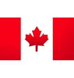 Flag canada background vector