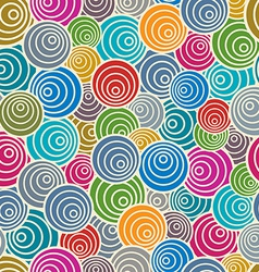 Funky style seamless pattern vector image vector image