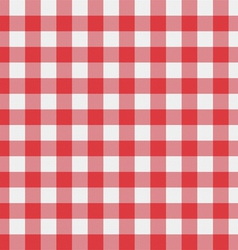 Picnic tablecloth pattern vector