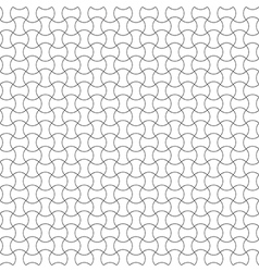 Seamless pattern waves vector image vector image