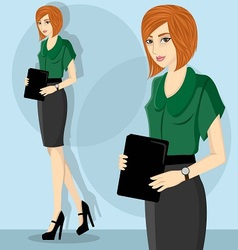 Careerwoman4 vector