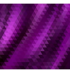 Abstract Purple Triangle Background vector image
