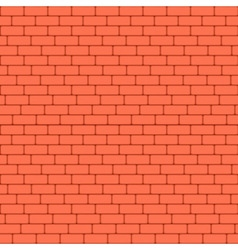 Red brick wall seamless background - texture vector