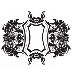 Baroque Ornament Decor vector image