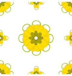 Cassia fistula - gloden shower flower vector