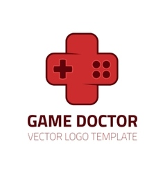 Game doctor logo vector