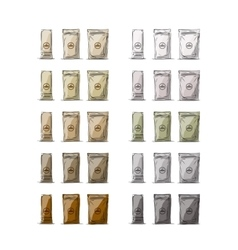 Bag packaging sketch for your design vector