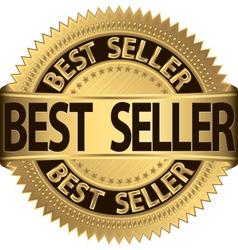 Best seller golden label vector