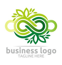 Company corporate abstract infinity vector