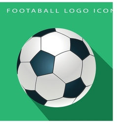 Football logo icon vector