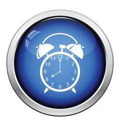 Icon of alarm clock vector