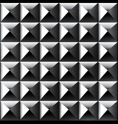 metal color square pattern vector image vector image