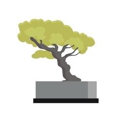 Tree souvenir accessoire money tree icon vector