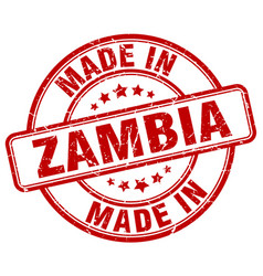 Made in zambia vector