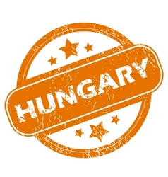 Hungary grunge icon vector