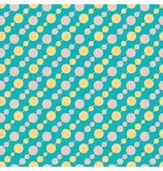 Vintage turquiose seamless pattern vector image
