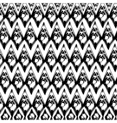 Abstract black and white grunge seamles pattern vector