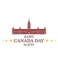 Independence Day Canada vector image vector image