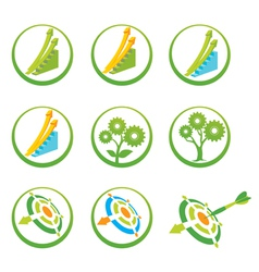 Productivity Icon Pack vector image vector image
