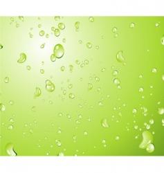water drop background vector image vector image