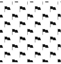 waving flag pattern vector image