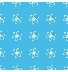 Atom straight pattern vector