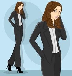 careerwoman5 vector image vector image