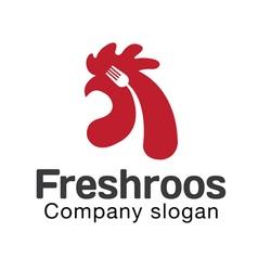 Fresh roos design vector
