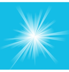 Sun ray background vector
