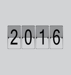 flip board 2016 vector image