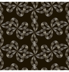 Seamless pattern stylish repeating texture floral vector