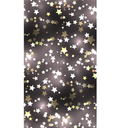 seamless texture with stars and sparks vector image