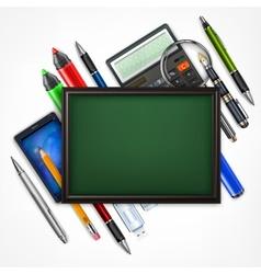 Education concept Blackboard vector image