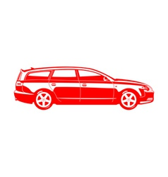 Station wagon vector