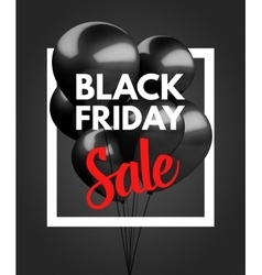 Black friday sale concept background vector