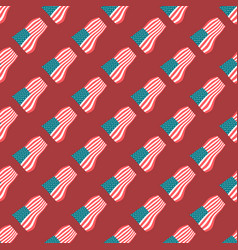 American flag seamless pattern vector
