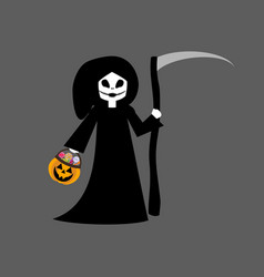 death halloween costume vector image