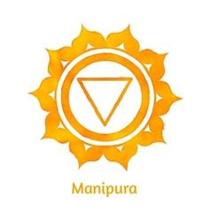 Manipura chakra vector