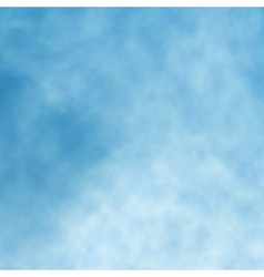 Blue background clouds vector