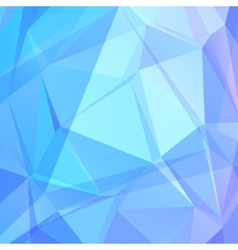 abstract background of triangles vector image vector image